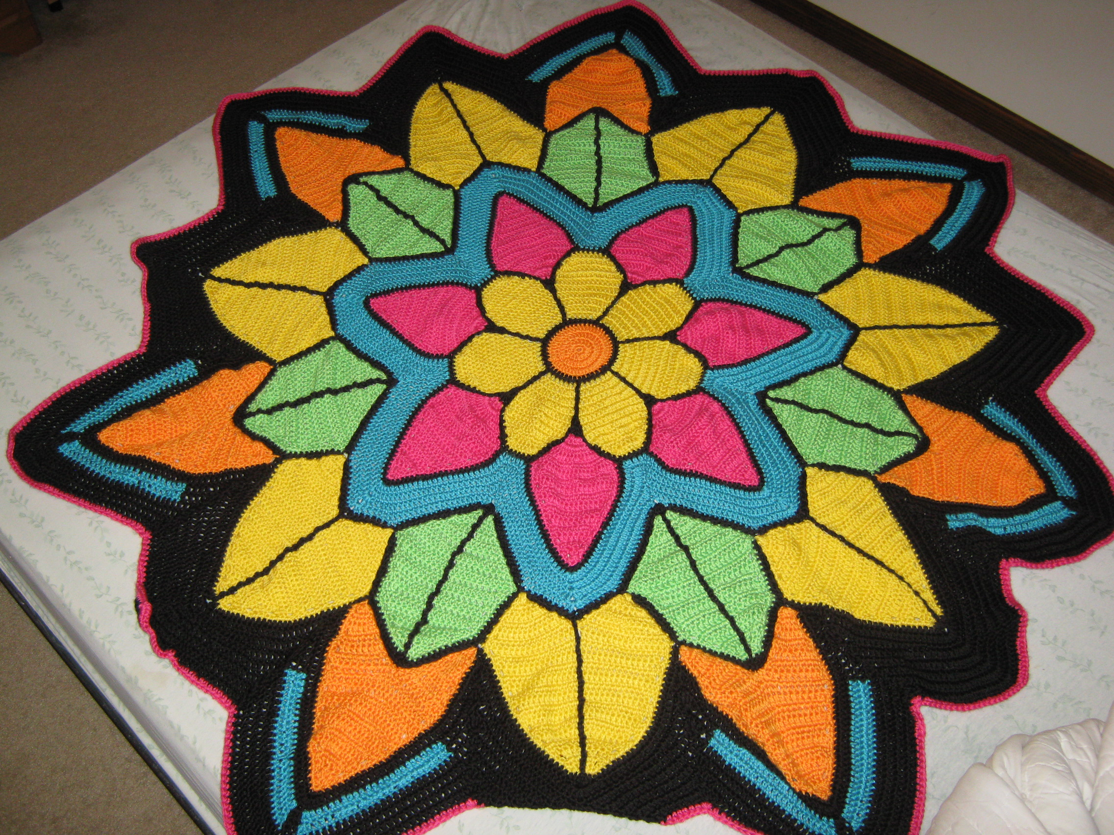 Finished flower 1